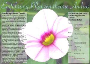 Einführung Pflanzen theorie Andros